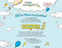 Dr. Seuss - UGC Promotion Website