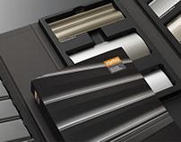 Editorial Design + Packaging Design // ROMA KG