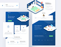Skyena - Blockchain internet | Responsive Design |