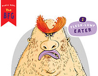 Roald Dahl's BFG | Character Design
