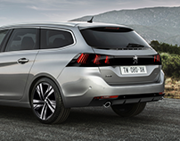 2019 Peugeot 308 facelift