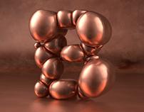 Copper boulders