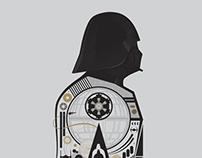 Rogue One Vader Illustration