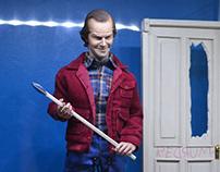 1/6 Jack Torrance Head Painting