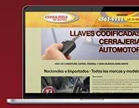 CERRAJERIA AUTOS | DISEÑO WEB HTML Y CSS