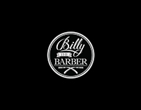 Billy The Barber Logo