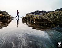 Photographers on beach : Lensmen.