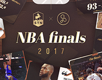 STN Digital - NBA Finals 2017 templates