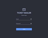 Ticket Mailer App
