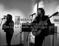Siberianos-Chiquero poster show| Agosto de 2017.