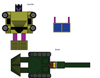 Paper Transformers: Combaticons