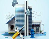 Ensurance company ad serie