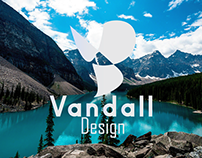 Marca pessoal da Vandall Design