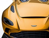 2020 Aston Martin V12 Speedster Amber