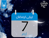 Ramadan Count Down Design