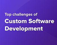 Top challenges of Custom Software Development