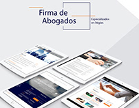 Rincón Abogados. Website Corporativo