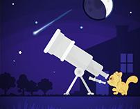 Spottie in space