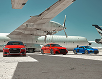 Audi RS in the Aircraft Boneyard