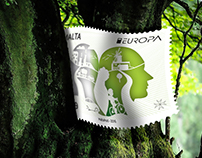 EUROPA 2016 - Think Green Stamp Design