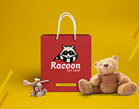 Racoon Toy Shop - Visual Identity