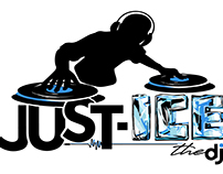 Just-Ice the DJ Logo