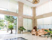 Chụp ảnh rèm Bạch Dương tại Summer Hotel