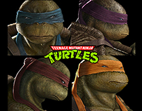 """ODE TO MY CHILDHOOD""(Teenage Mutant Ninja Turtles)"