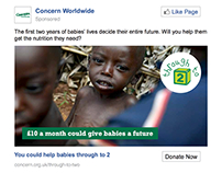 Cash recruitment facebook ads - Through to 2