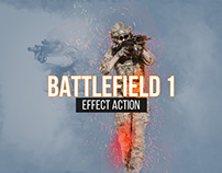 Battlefield 1 Cover Effect Photoshop Action