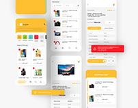 MOWAFER E-Commerce App UI/UX Design