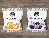 El Nogal: Ciruelas pasas y orejones | Packaging