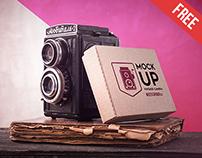 Vintage Camera - Free PSD Mockup