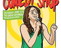 Comedy Shop Poster