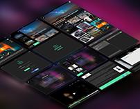 Objectif Photo - UI/UX design projet