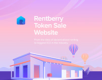 Rentberry Token Sale Website