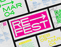 ReFest 2020 — event branding
