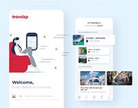 Travelxp - UI/UX - Mobile App - Web