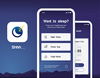 Shhh App Design Concept