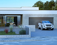VIZprofistudio Modern House for one Family, CGI 3D