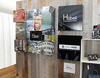 Hubeli communication 3D panel in St.Moritz