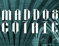 Maddox Gothic Free Display Font