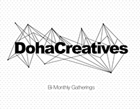 DohaCreatives Gatherings Visual Identity