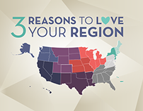 3 Reasons to Love Your Region / Interactive