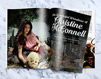 Christine McConnell | Magazine Spread