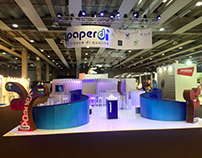 Stand created for Paper Divipac Srl _ May 2016