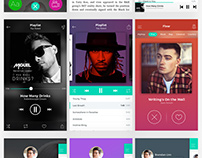 BUZZ Music App UI