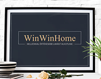 WinWinHome homestaging company logo and branding