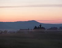 Morning sunrise trip