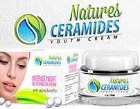 Natures Ceramides  Branding